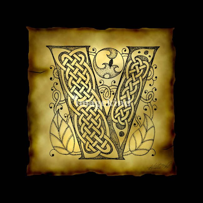 111 best celtic letters & designs images on Pinterest | Celtic ...