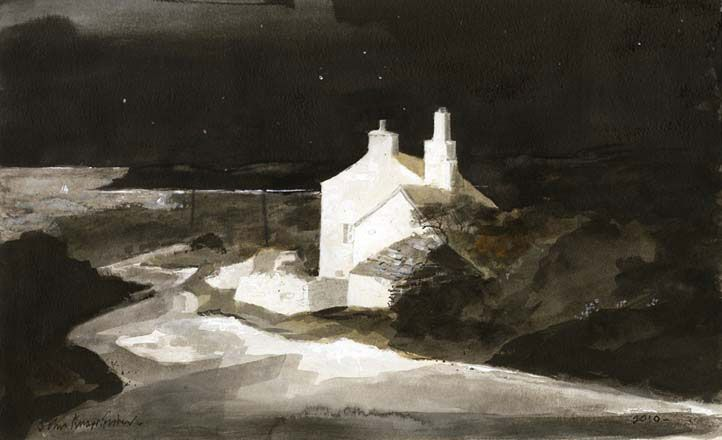 Starlit Night John Knapp-Fisher Ink and watercolour 2010