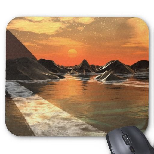 Remnants Of A Kingdom Mousepad by ArtisticEvolution