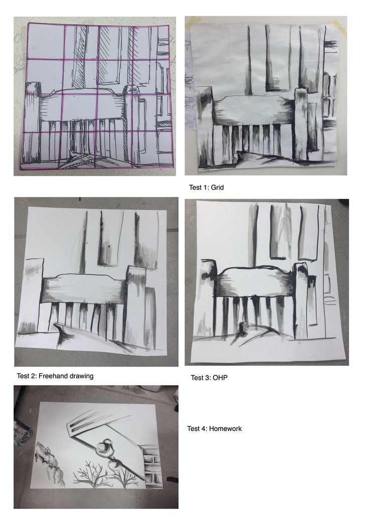 Task 2 - Long Stick Drawings