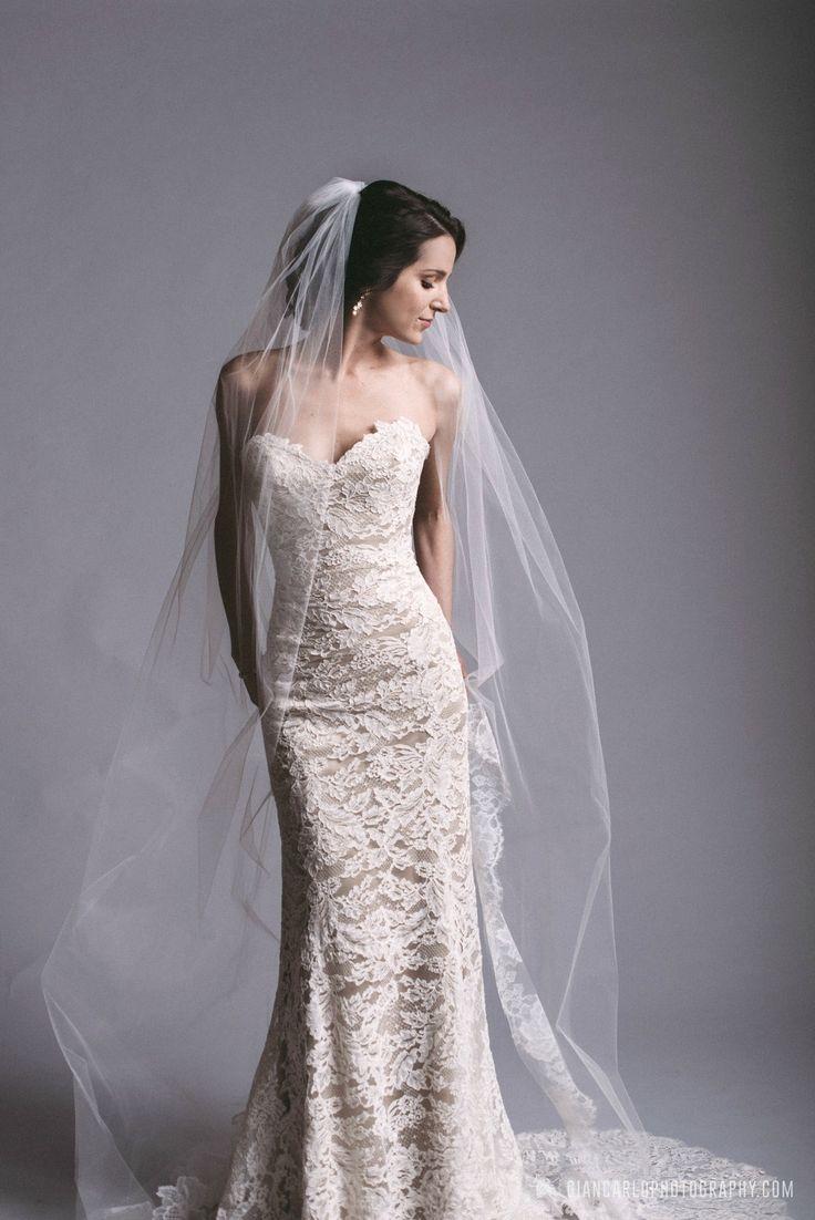 Stunning Ulla-Maija | Anna Maier gown and veil