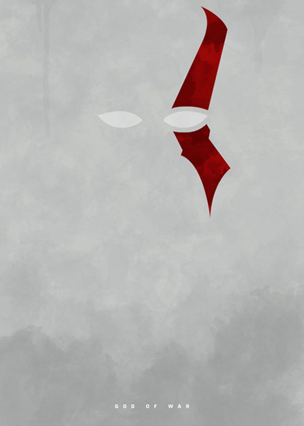 Minimalist Posters - God of War