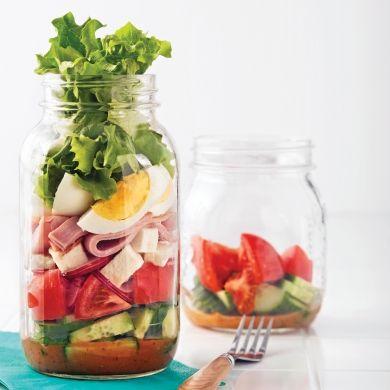 Salade en pot - Recettes - Cuisine et nutrition - Pratico Pratique