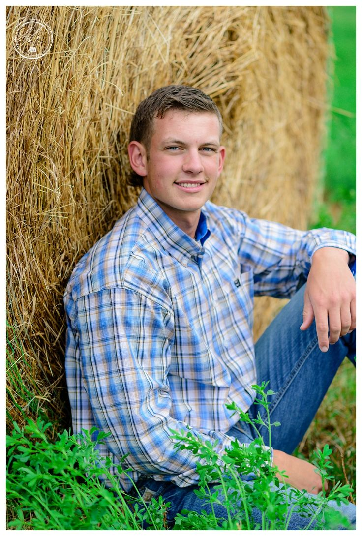 Littleton Senior Pictures.  Country Senior pictures.  Hay Bale Senior Pictures…