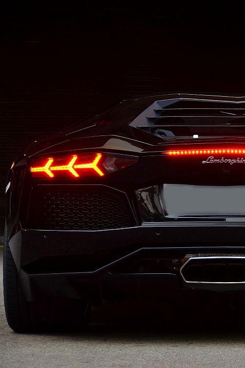 Lamborghini Aventador rear! So aggressive and dominating. A beast of a car.