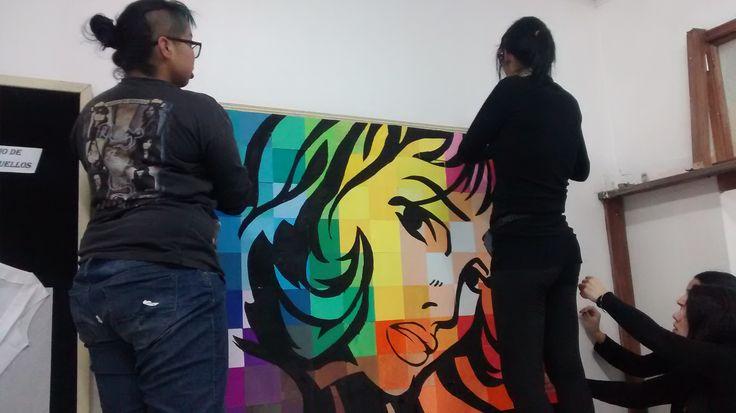 Color I Roy Lichtenstein / proceso