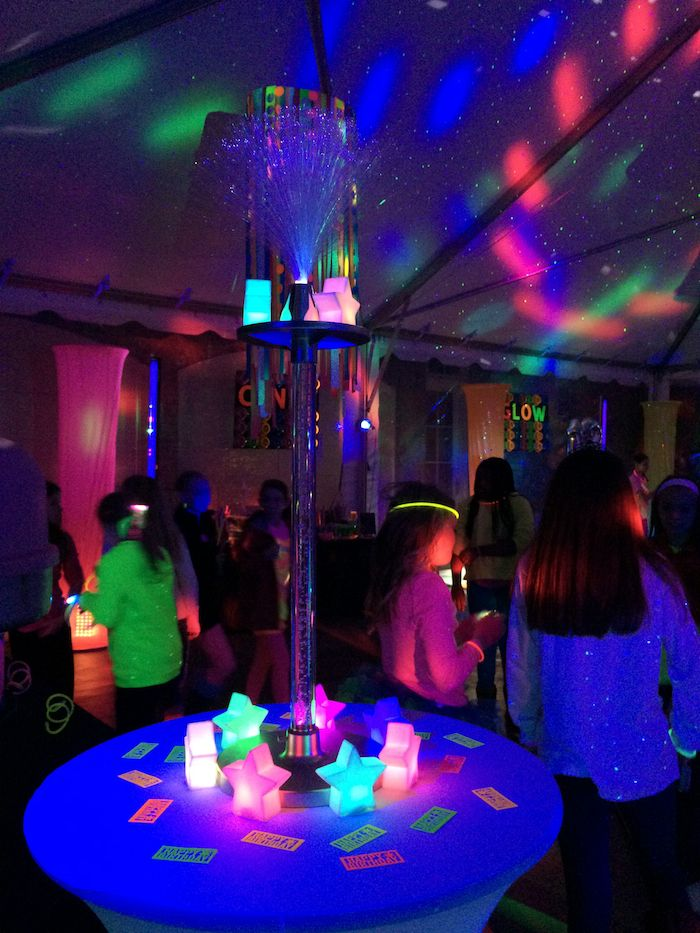 When a girl moves up to Middle School and has lots of new friends to get to know, what better way to do it than with the coolest party in town…! Almost one hundred 11-year olds, dressed to the nines in neon and anything else that might glow in black light, partied and danced and, …