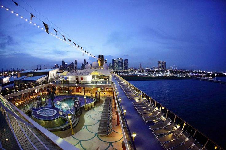 Maiden Call Costa Atlantica in Singapore 2, Costa Crociere