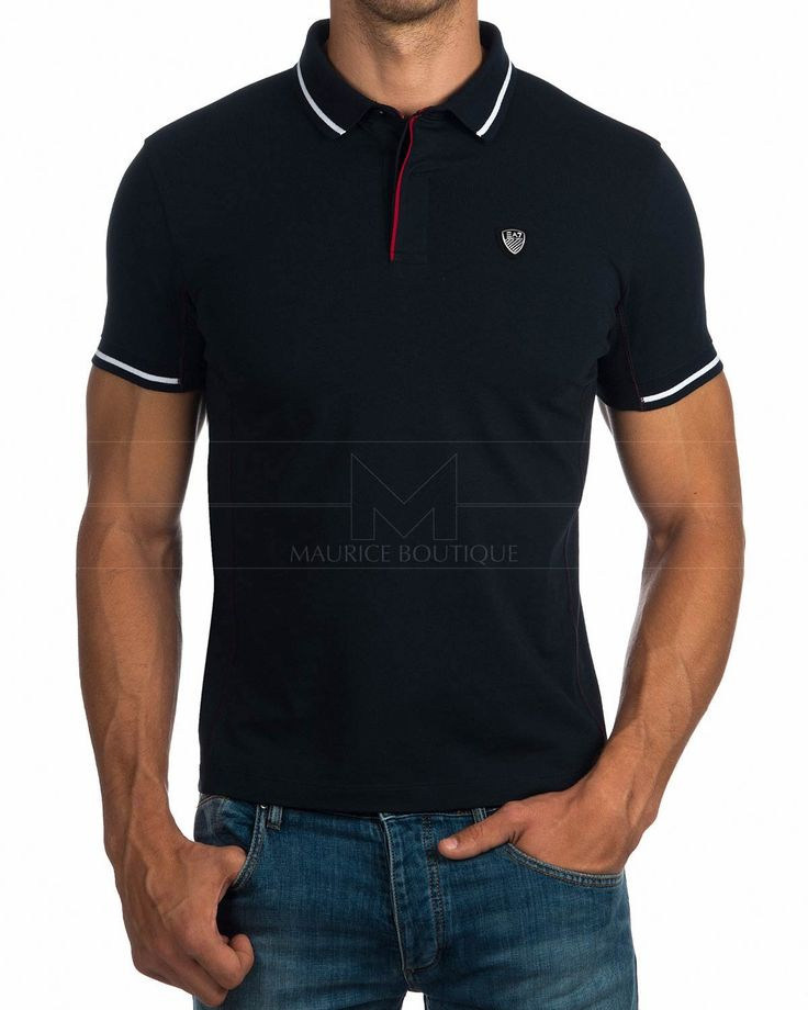 Polo Shirt EA7 Emporio Armani - Navy Blue Tennis