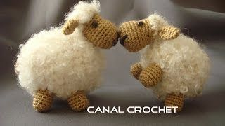 crochet sheep - YouTube