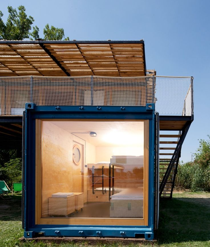 Swedish Cabin With Roof Top Garden And Retractable Outdoor: 17 Best Ideas About Container Design On Pinterest