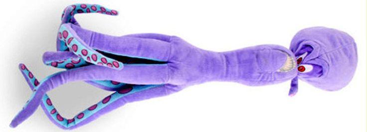 Pulpo de Pingüinos de Madagascar. Muñeco de peluche - portal Ñoño .-.-.-.-.-..---.-.   .-.-.-...-...-..-.-..-  Muñeco de peluche del malvado Dr. Octavio Salitre, el malvado pulpo de Pingüinos de Madagascar. El cuerpo mide 40 cms y los tentáculos, otros 40 cms. Empaque: bolsa.