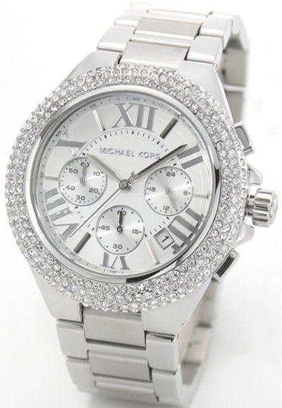 Michael Kors Women's MK5634 Camille Silver Watch : Disclosure: Affiliate link *$173.21 - 177.99