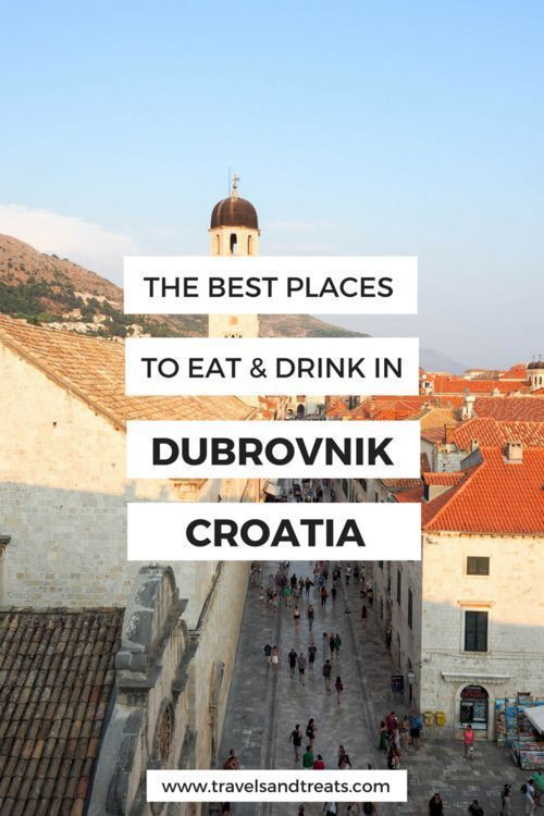 What To Eat In Dubrovnik Restaurants Bars You Dont Want