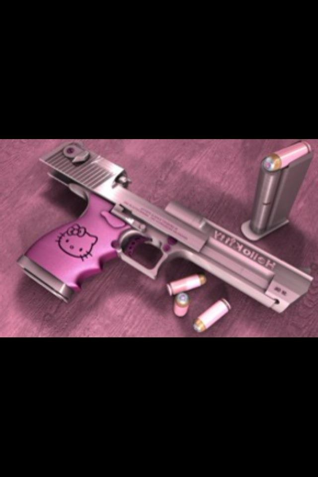 another pink gun.  silly