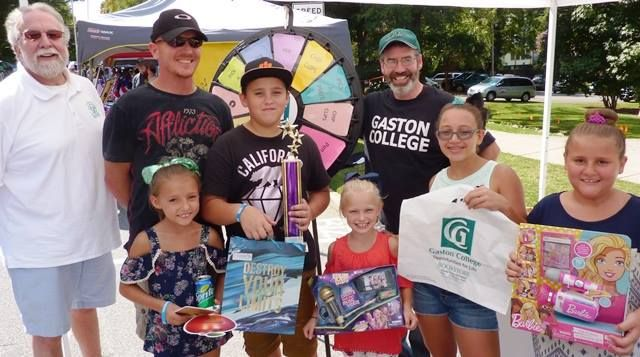 There were tons of smiles at the Gaston College booth at the Apple Festival in Lincolnton this weekend. Read more about the Prize Wheel at https://PrizeWheel.com/blog/.