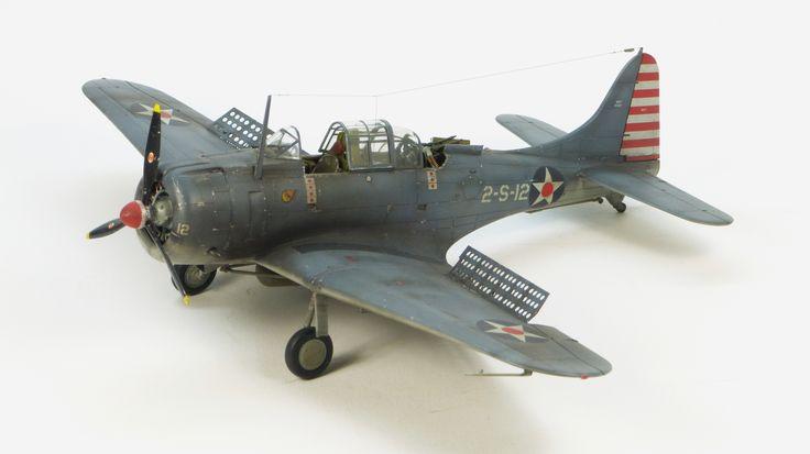 Hasegawa SBD-3 Dauntless