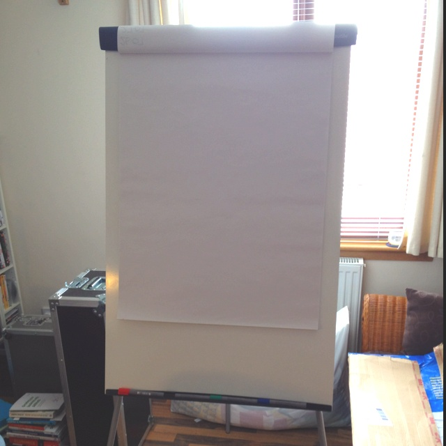 New flip chart in the office!