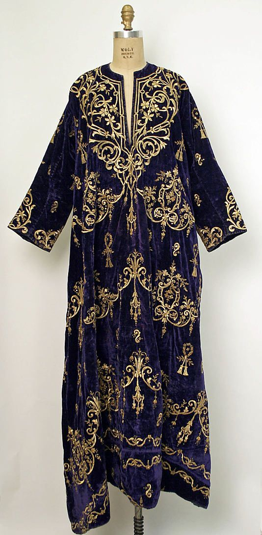 Robe, early 20th c., Turkish