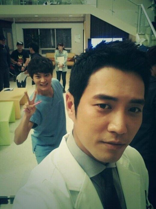 Good Doctor Joo Won (back) & Joo Sang Wook