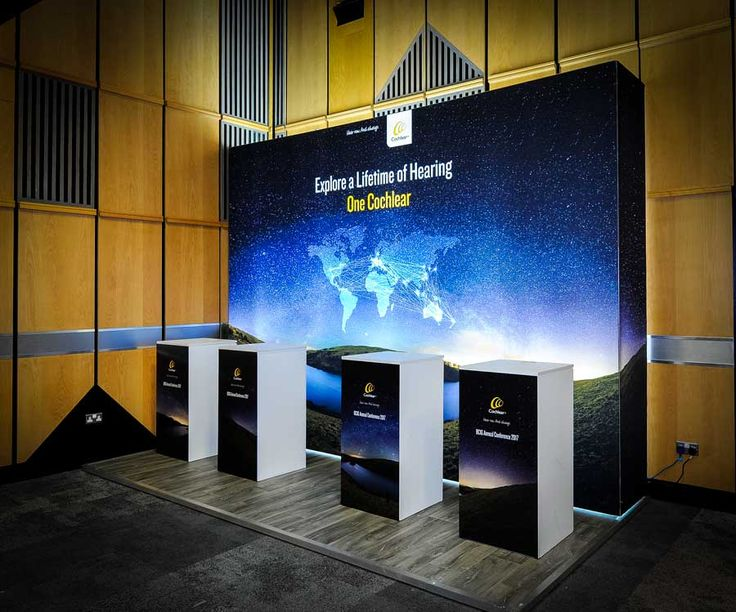 PictureCube™ Display Systems - The best fabric for backlighting #ExhibitionStand #TradeShow #Design #Marketing