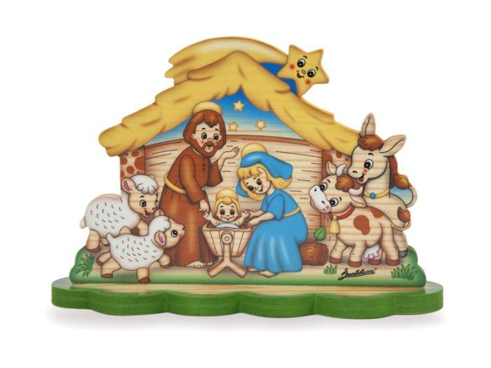 Nativity Scene - Hut