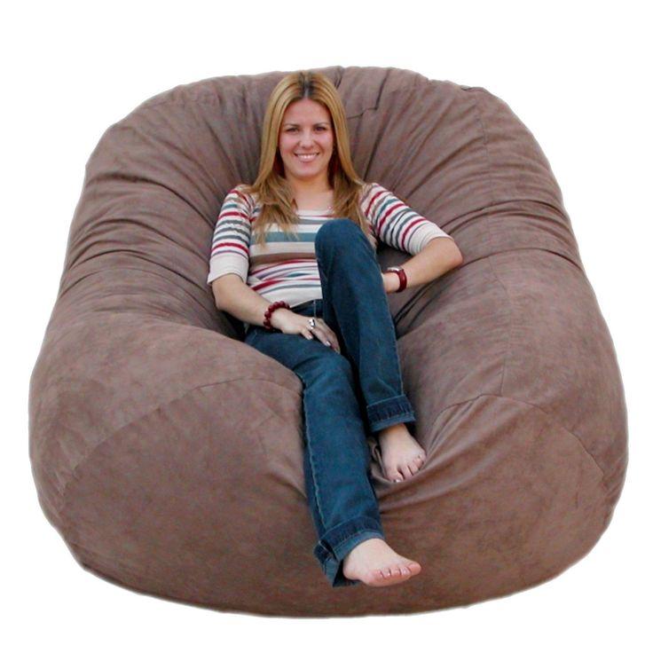 Cozy Sack 6 Feet Bean Bag Chair Large Earth Bean Bag