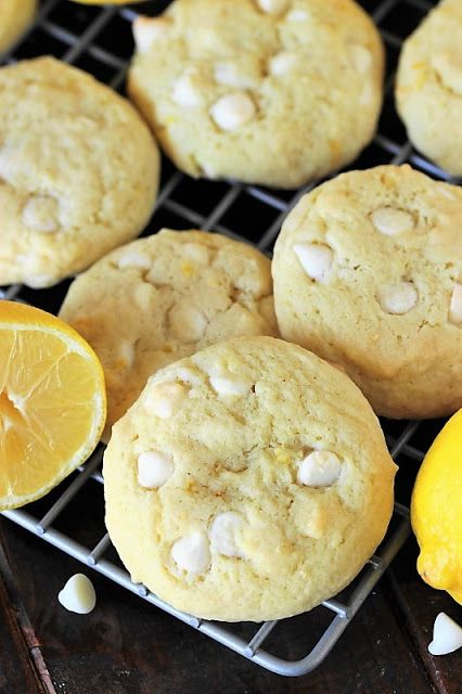 Lemon White Chocolate Chip Cookie photo