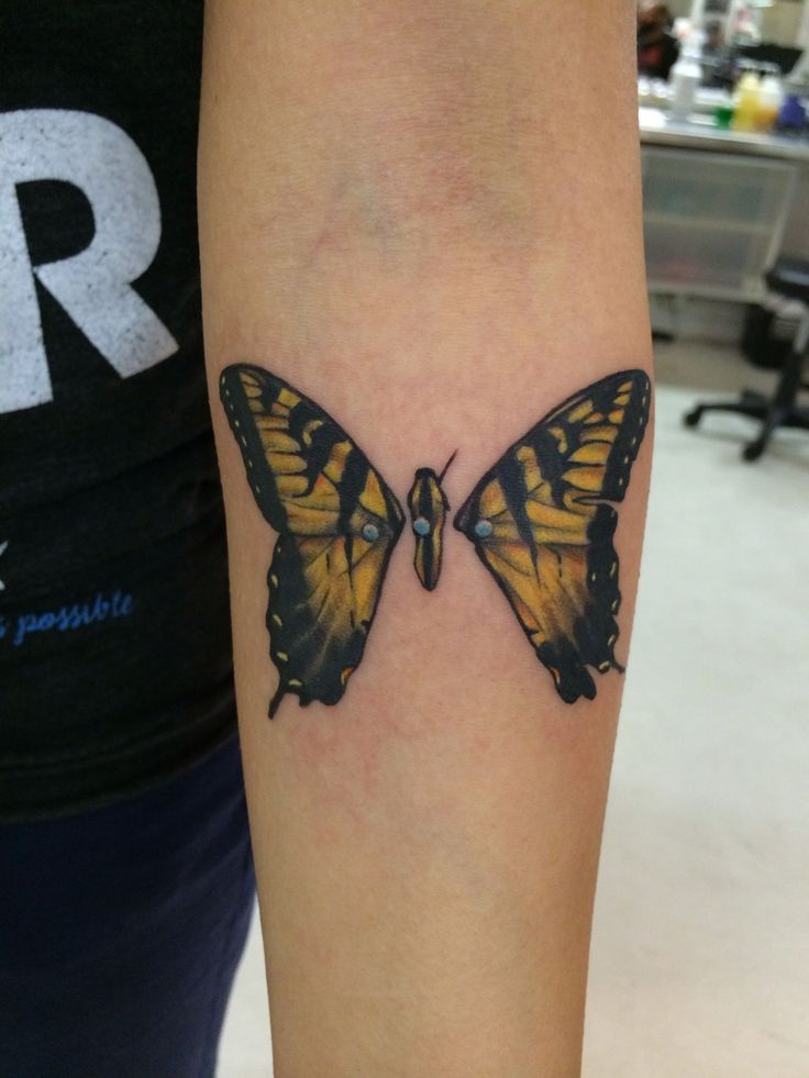 Got inked with a paramore tattoo - brand new eyes