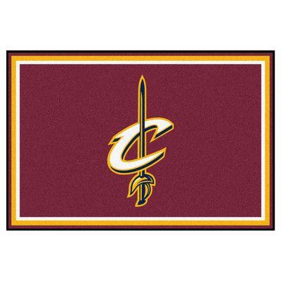 FANMATS NBA - Cleveland Cavaliers 5x8 Rug