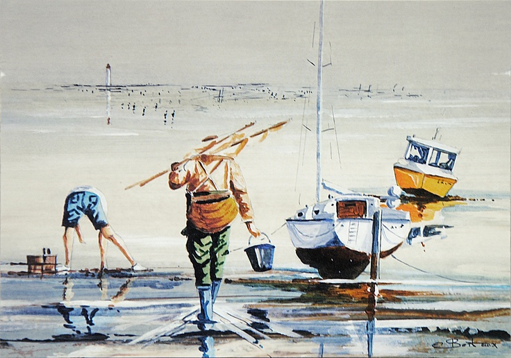 Eric Bertaux - Les pêcheurs