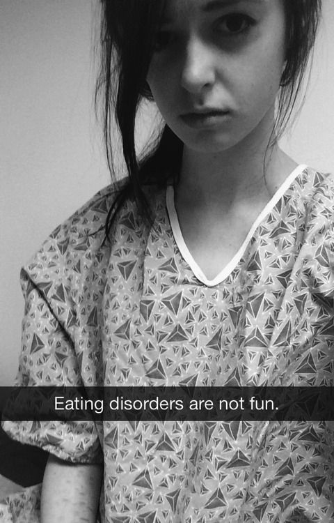 IT'S A DISEASE-NOT A LIFESTYLE-Eating disorders are not fun. Eating disorders are not cute. Eating disorders are not a choice. Eating disorders are not a diet. I cannot make every single person understand how horrible an eating disorder is. If you don't have an eating disorder, you will never understand-Healthy people want to be healthy.Eating disorders kill more people than any other mental illness-This is nothing to be admired
