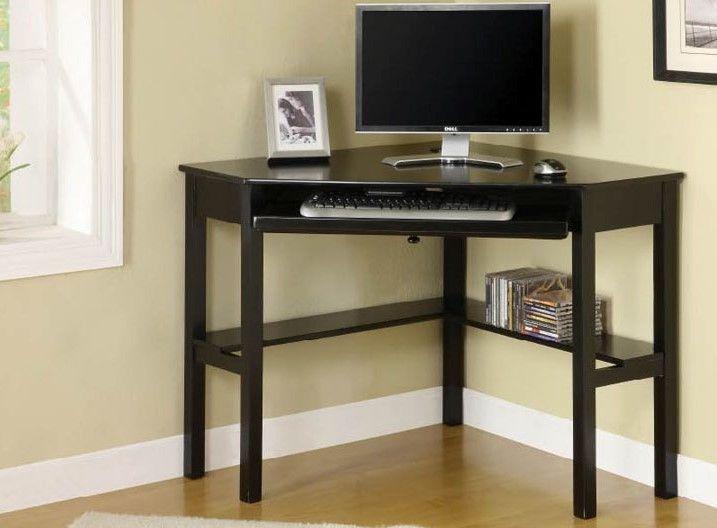 Corner Desk, Black