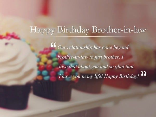 Birthday Wishes For Brother In Law Birthday Quotes Birthday