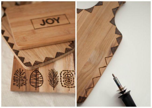 10Ideas que convertirán tus tablas para cortar enbellos adornos