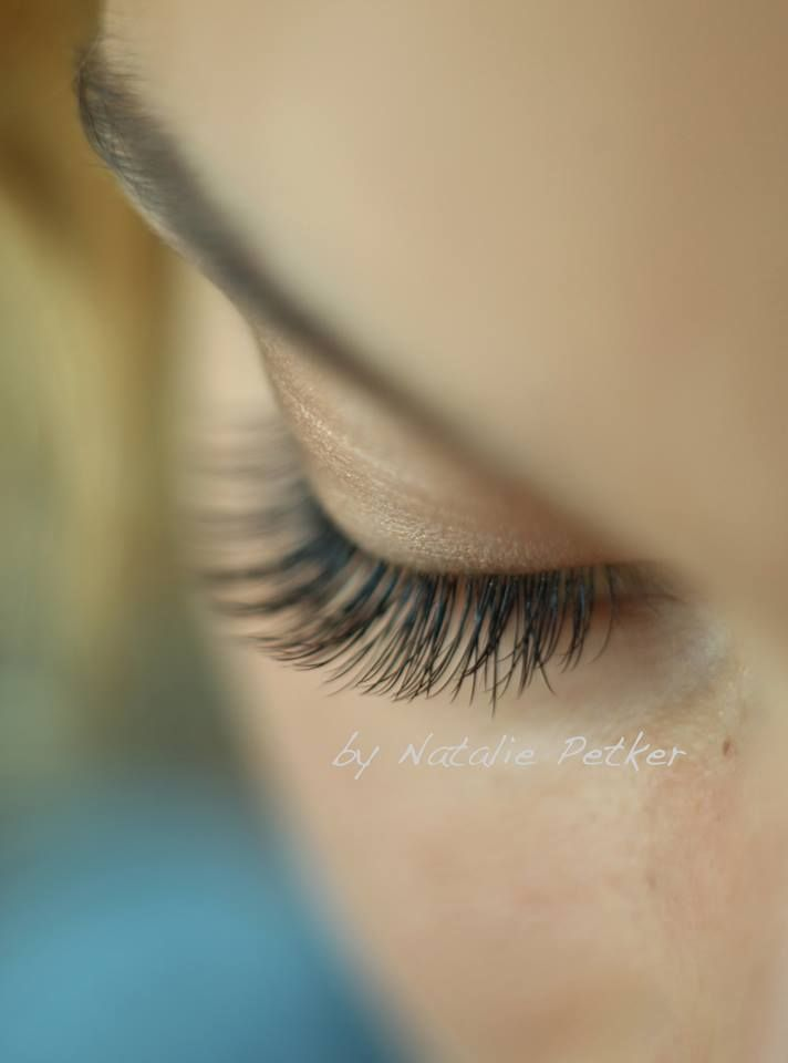 Wimpernextensions- Eyelashes