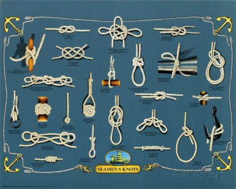nœud marin | Noeuds marins Affiche