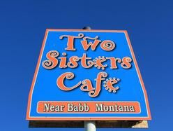 Two Sisters Cafe, near Babb Montana