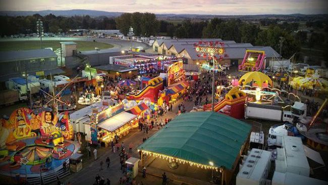 Royal Bathurst Show. We always went to this and had lots of fun - it was much cheaper and less crowded than the Easter Show. Adults $22, Kids $11. Family $44.