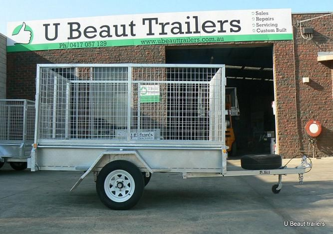 ubeauttrailers.com.au company offers box trailers for sale in Melbourne with affordable price. We provide box trailer, car trailer for sale, Galvanised trailer & many more and uses 100% new parts with a 1 year structural warranty on suspension and trailer frame.