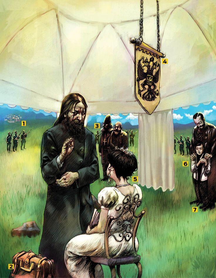 Retrato Falado: Rasputin foi um excêntrico e ambicioso camponês que fez uso de seu carisma para manipular a monarquia russa