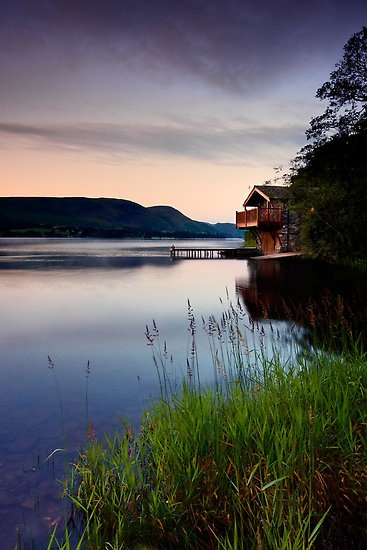 Duke of Portland boathouse on Ullswater