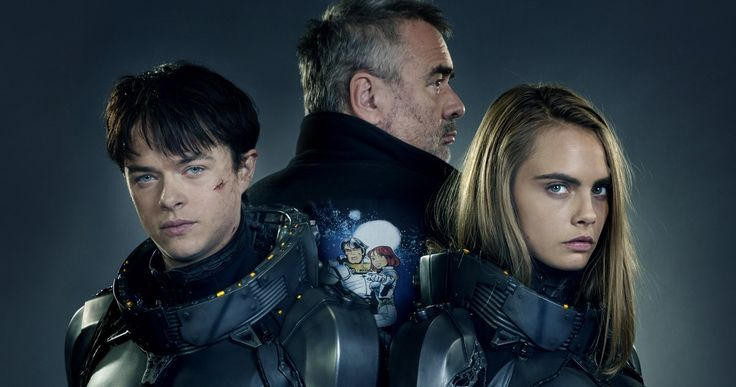 First 'Valerian' Photo Teams Cara Delevingne & Dane DeHaan -- Director Luc Besson shares the first official photo from 'Valerian and the City of a Thousand Planets', with more images debuting in Entertainment Weekly tomorrow. -- http://movieweb.com/valerian-movie-photo-cara-delevingne-dane-dehaan/