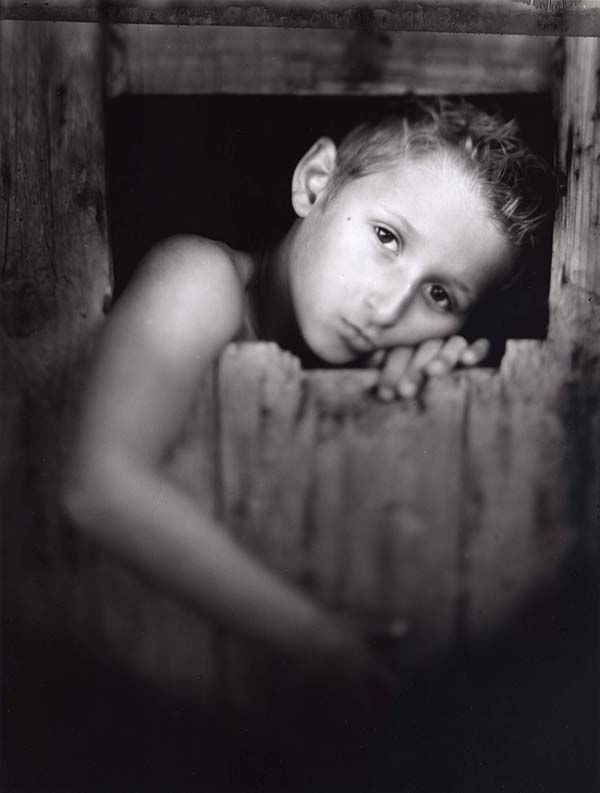 "William Ropp, Nancy, France  Zac, Summer 2005 from the series Children, 2005  Silver Gelatin Fiber Base Print, Edition 10/10  24"" x 20"", signed and titled in pencil on back"