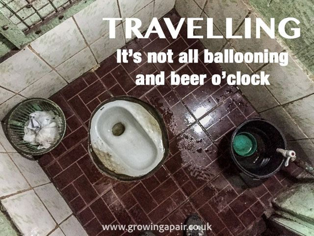 Asian toilets are the worst thing about travelling