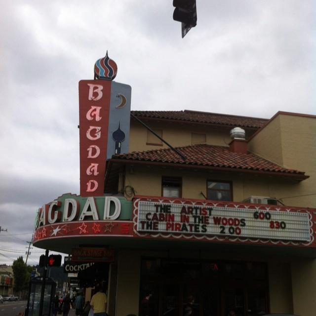 Exceptional Bagdad Theatre, Portland
