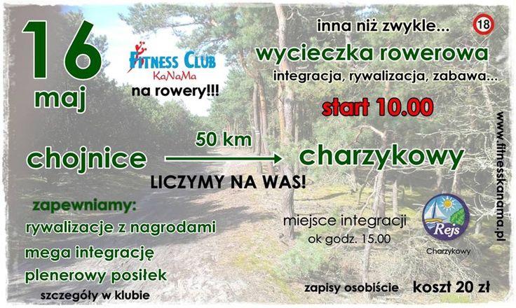 IV integracyjna wycieczka rowerowa Chojnice-Charzykowy