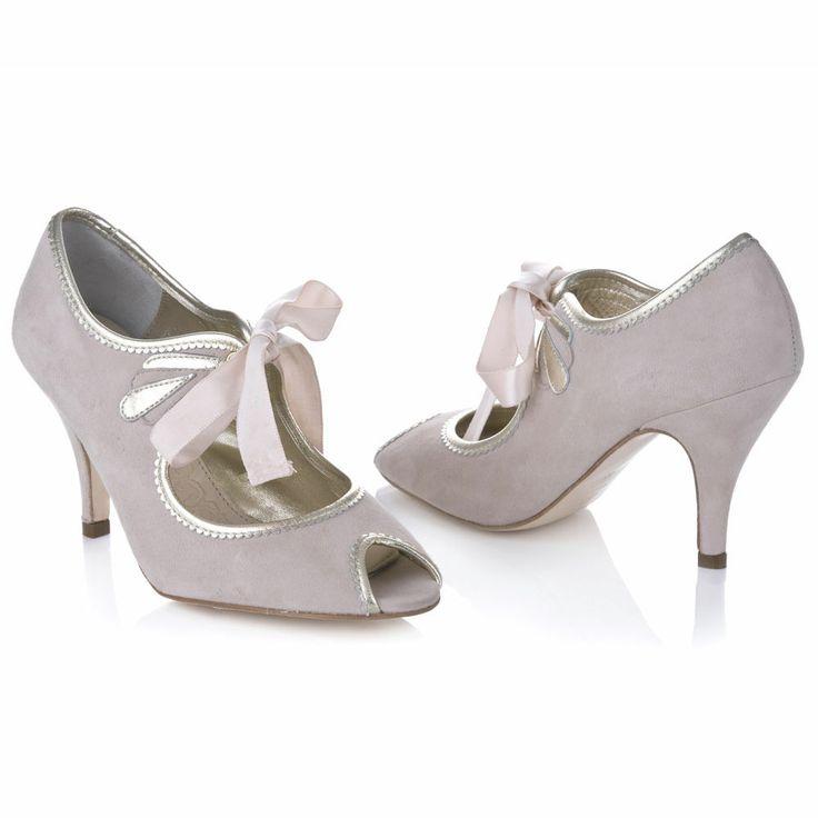 Rachel Simpson Shoes - New Collection:AgnesWedding Shoes, Vintage Bridal Shoes & Vintage Wedding Shoes