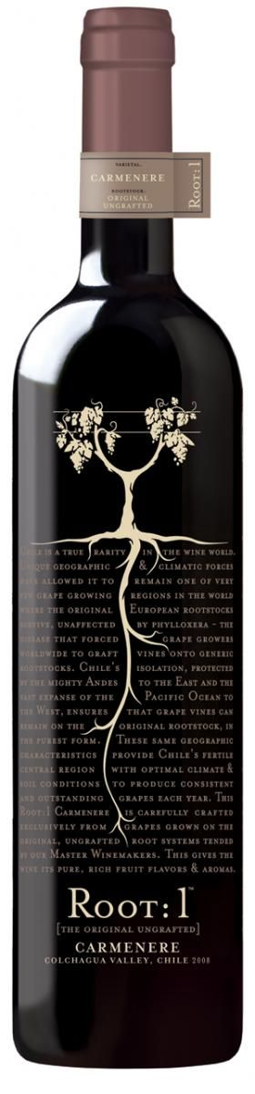root 1: carmenere - awesome chilean wine