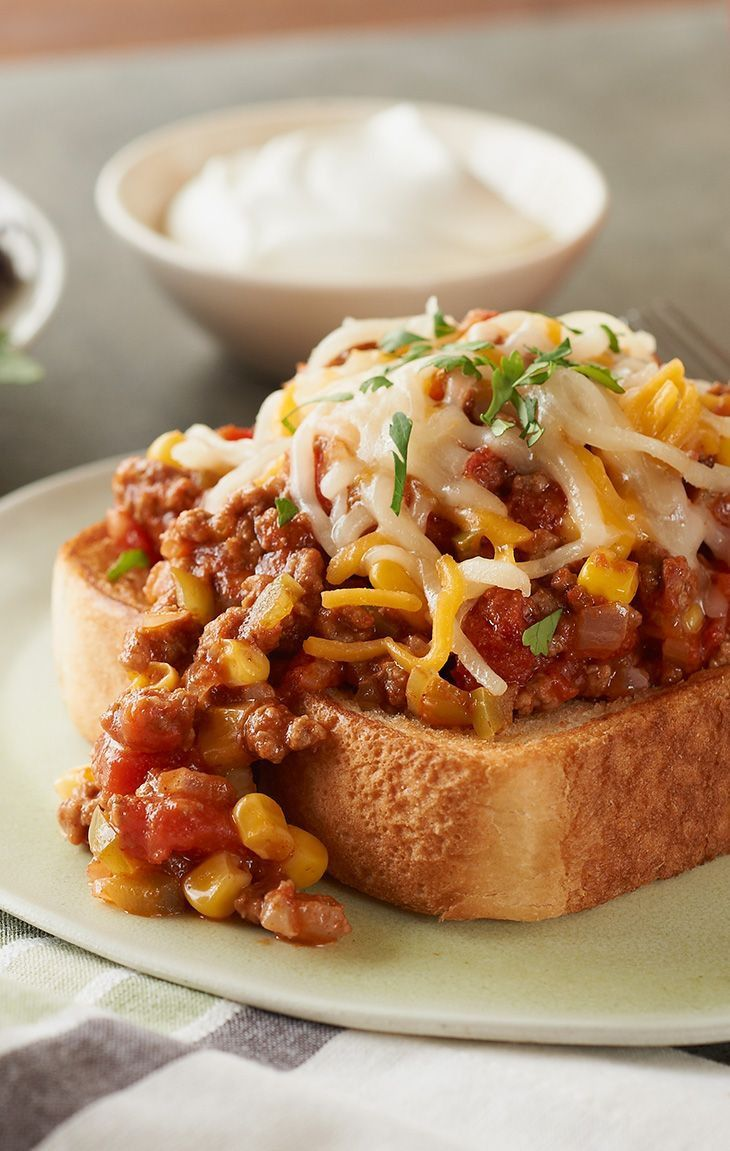 Texas Taco Joes -- A Texas twist on two dinner favorites--sloppy joes and tacos. This recipe is sure to please every cowboy and cowgirl in your family!